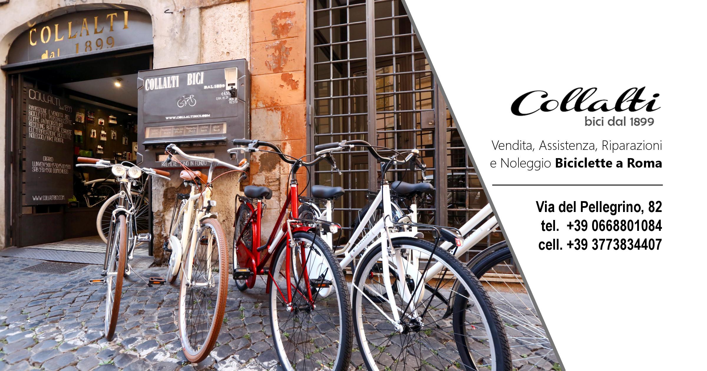 Negozio di biciclette a Roma