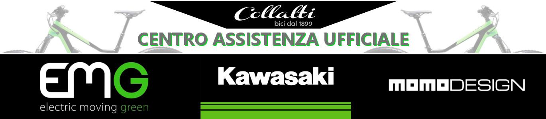 centro assistenza ufficiale Kawasaki bike, EMG, Momodesign