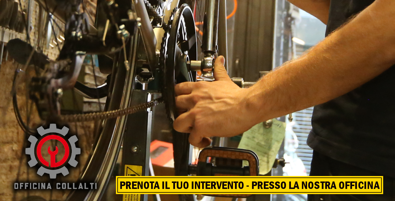 Officina della bici a Roma