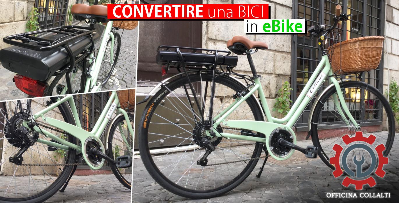 convertire una bici in ebike