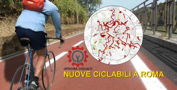 nuove ciclabili a roma