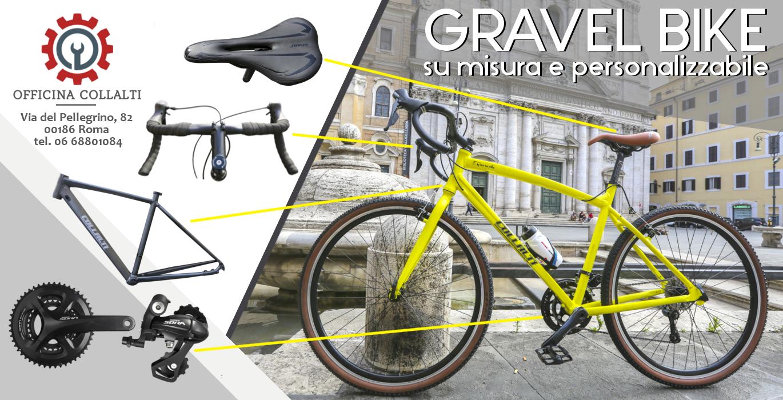 gravel bike personalizzate Roma